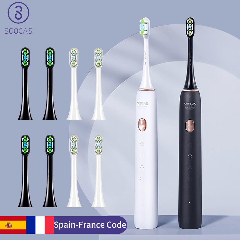 SOOCAS Sonic Electric Toothbrush X3U Ultrasonic toothbrush head cleaner Adult Automatic Smart Teeth whitening:From xiaomi youpin