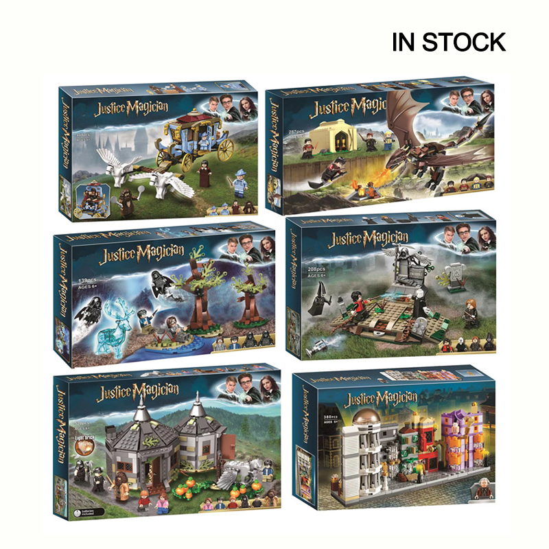 Harri Movie Magic School Voldemort Clock Tower Building Block Toys Compatible LegoinGOOD 75945 75946 75957 75958 75965 Gifts