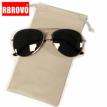 RBROVO 2018 Pilot Sunglasses Women/Men Top Brand Designer Luxury Sun Glasses For