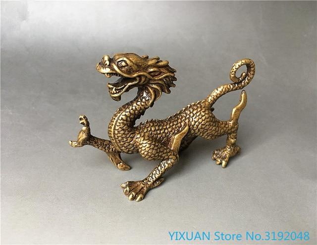 LISAQ China Cuatro Grandes estatuas de Animales Estatuas Dragones Azules Tigres Blancos Suzaku Basalto Decoraciones de Escritorio Decoraci/ón del hogar (Paquete de 4)