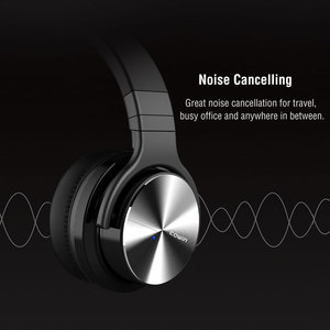 Image 2 - Orijinal Cowin E7PRO aktif gürültü Bluetooth kulaklıklar kablosuz mikrofonlu kulaklık ANC Handsfree HIFI bas ses
