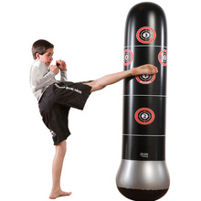 Kids Toys Boxing Outdoor Indoor Games Adult Sport Sandbag Tumbler Stress Relief Parent Child Interactive Game with Air Pump