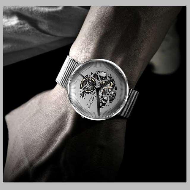 CIGA Ontwerp Top Design Merk CIGA Mechanische Horloge MIJN Serie Automatische Holle Mechanische Horloge mannen Mode Horloge
