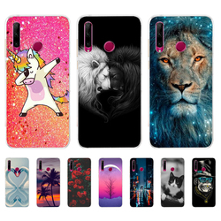 Case for Honor 10i HRY-LX1T Case Silicone tpu Back Cover Phone Case For Huawei Honor 10i Honor10i 10 i 6.21 inch coque bumper
