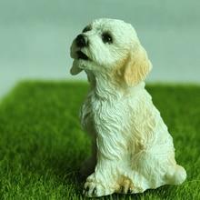 Miniature Fairy Figurine Bonsai Decorations-Crafts Gifts Home-Toys Animals Dog Garden