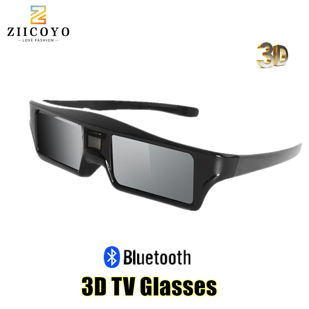 ZIICOYO GT200 replacement SSG-5100GB 3D Smart LED TV Active shutter glasses for Samsung Sony Panasonic 3D TV and epson projector