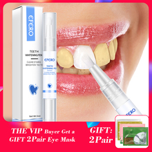 EFERO Dental Teeth Whitening Pen Cleaning Stains Bleaching Tool Tooth Serum Oral Care Essence