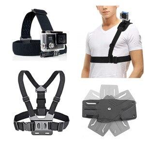 Image 1 - Outdoor Sport Accessori kit per Gopro hero xiaomi yi Sjcam Sony RX0 X3000 X1000 AS300 AS200 AS100 AS50 AS30 AS20 AS15 AS10