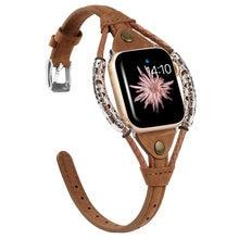 Ремешок из натуральной кожи для apple watch band 38 мм 40 42