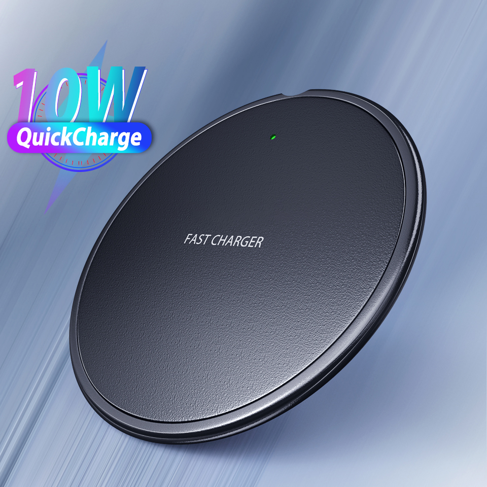 Wireless Charger For Xiaomi mi note 10 Wireless Charging Pad Receiver For iPhone 11 Pro MAX X 8 Plus Samsung S10 S9 Plus Charger(China)