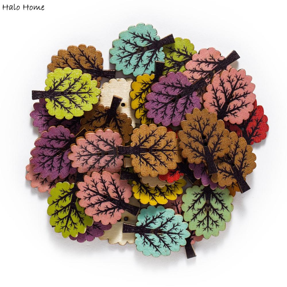 MIXED MINI FLOWERS V1 5 PETAL WOODEN CUTE DECOR CARD MAKING DIY EMBELLISHMENTS