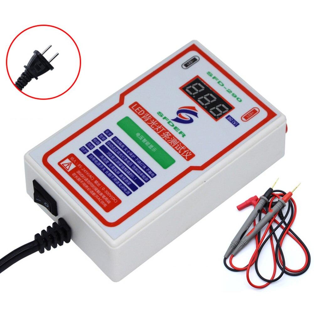 0-300V Output Handhold Practical Durable LED Strip Bead LCD TV Multipurpose Backlight Tester Measuring Universal Digital Display
