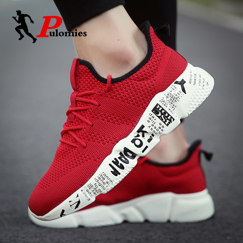Summer Men Sneakers Casual Shoes Breathable Light Mesh Sneakers Sport Shoes Running Shoes Man Tennis Shoes Men Walking Sneakers