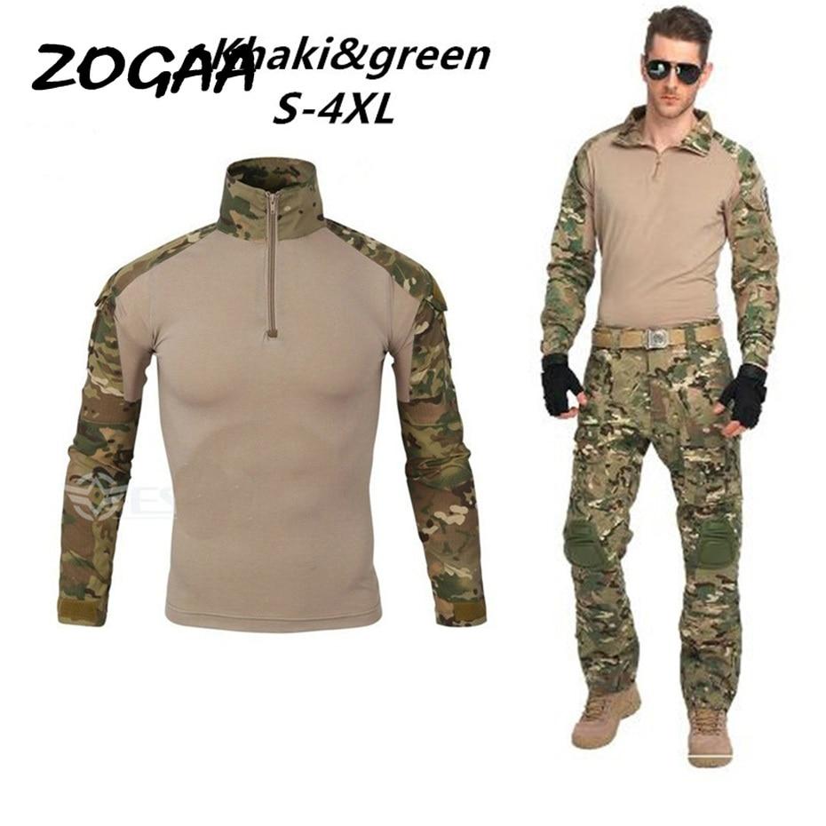 New Fashion Men Set Long Sleeve Camouflage Hoodies Set Male Tracksuit Outdoors Sport Suit Men's Gyms Set Casual Sportswear Suit