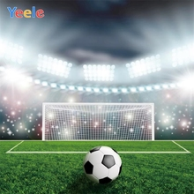 Yeele Photozone for Baby Birthday Soccer Football Stadium Photography Background Photographic Backdrops for Photo Studio Props 60x84 inches flowers theme photography backdrops party background for wedding baby birthday decoration photo wall studio props