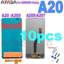 10 Pcs For SAMSUNG Galaxy A20 A205 SM-A205F A205FN A20s A207 SM-A207F A207F/DS A207FN A207U LCD Display Touch Screen Assembly