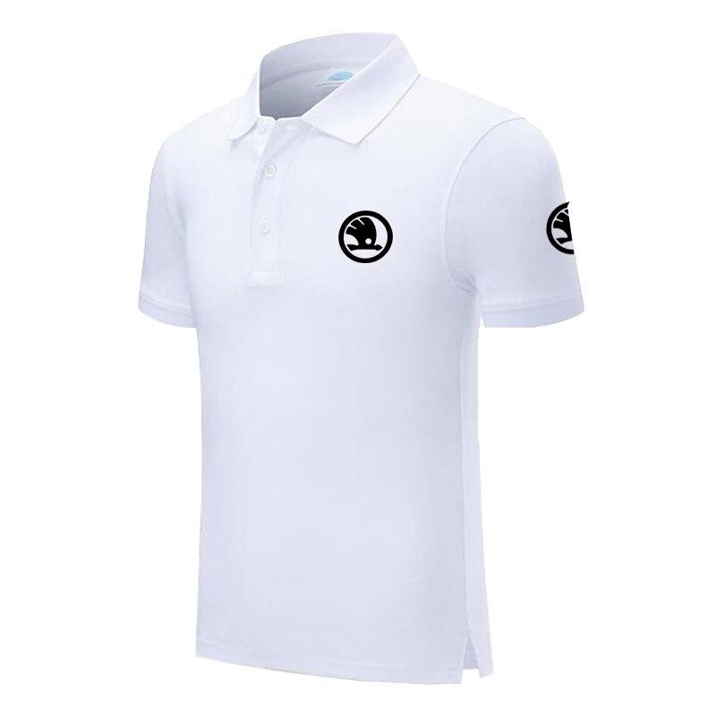 Men's Skoda Polo Shirt For Men Desiger Polos Men Short Sleeve Shirt Clothes Jerseyssic Male Brand Polos Shirts