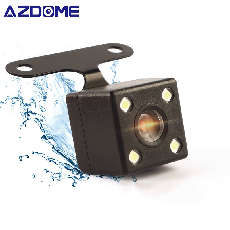 AZDOME 4 PINS Car Rear View Camera For GS63H DVR Video Recorder Waterproof 6 And 10 Meters Vehicle Backup Cameras