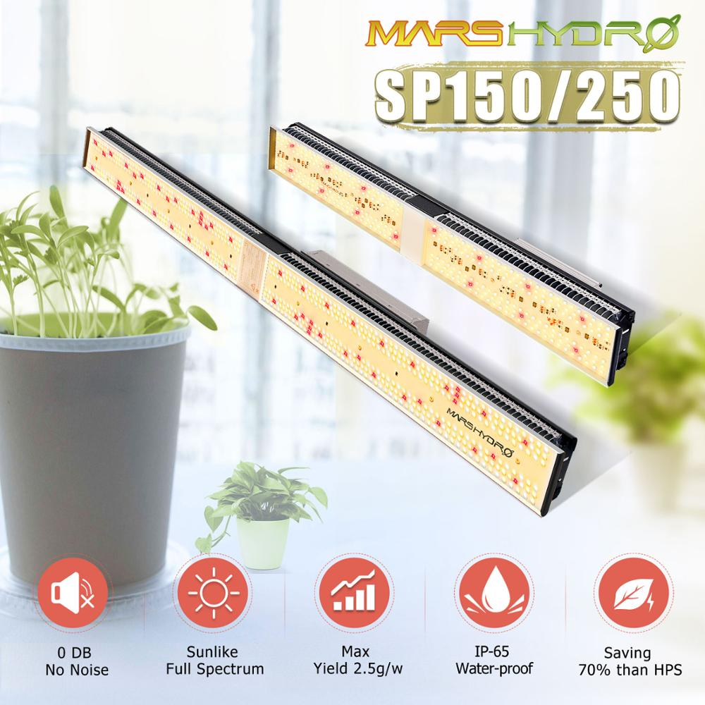 Mars Hydro SP 150 250 Full Spectrum LED Grow Lights Strip Grow Tent Hydroponics Veg and Flower