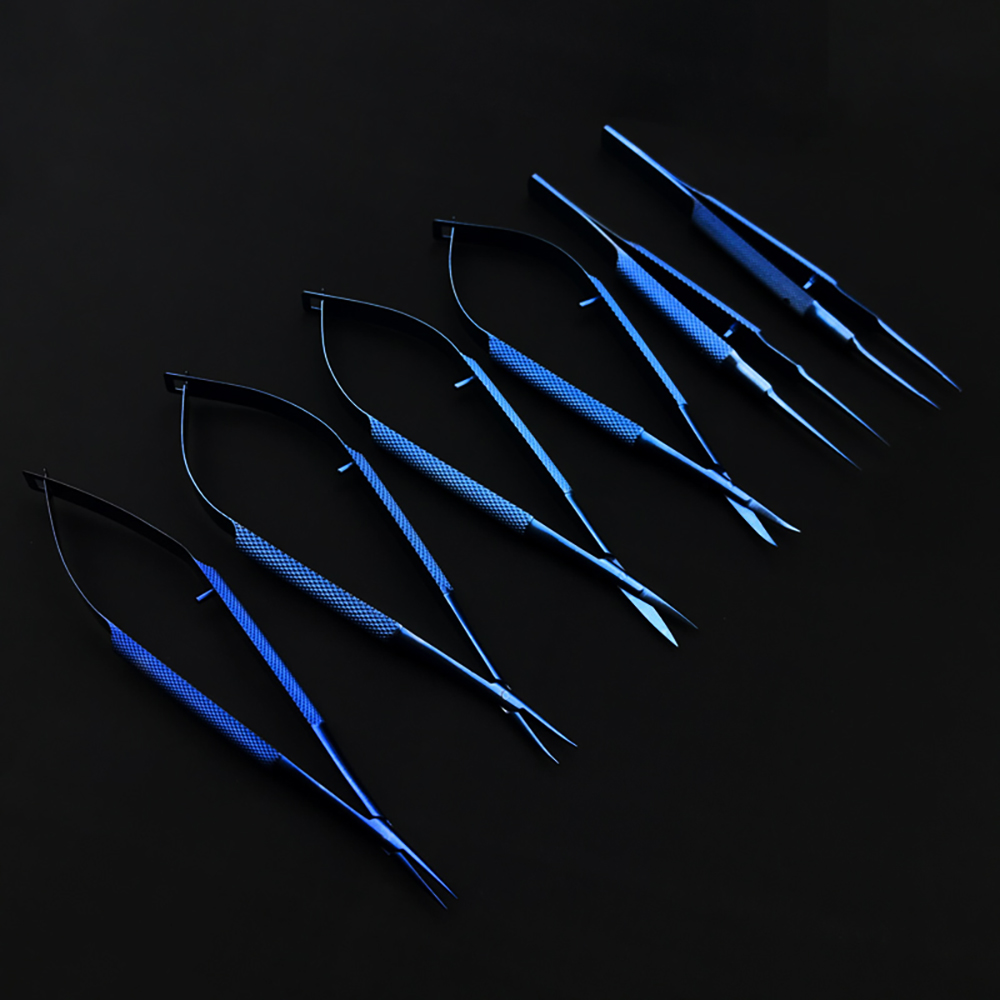 Needle Holders Scissors Ophthalmic Instruments Tweezers Microsurgical Dental Instruments Titanium Alloy Surgical Scissor Forceps
