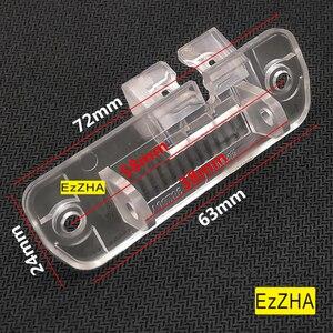 Image 2 - Luzes da placa de licença do suporte da câmera de visão traseira do carro ezzha para mercedes benz cls class 300 w219 r300 r350 r500 ml350 w211 251