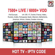 Europe French IPTV France Code Spain UK AL German 12 months Work On SSiptv Smart IPTV SMARTERS VLC M3U H96 MAX X96 mini Box TV(China)
