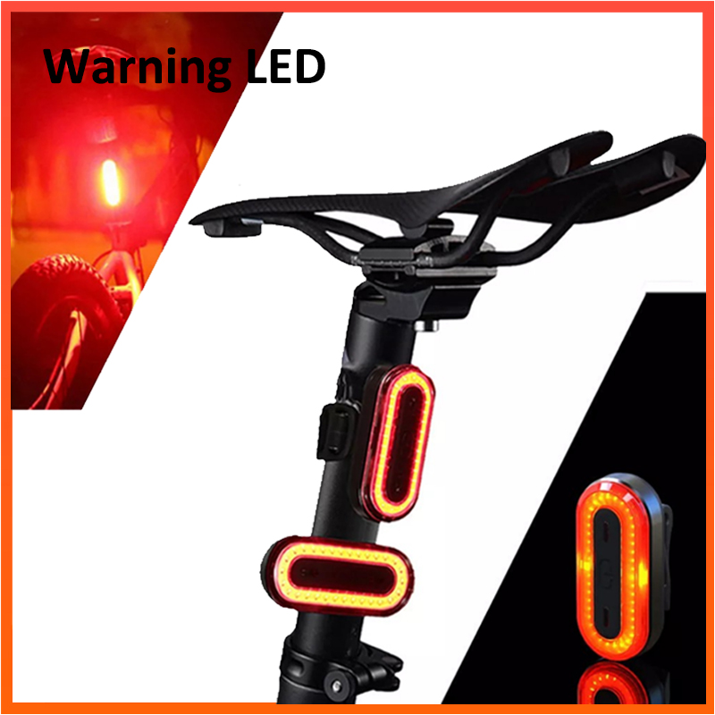 XANES STL03 Bicycle Rear LED Light Cycling TailLight Back Lamp Waterproof 360 rotating Warning Flash Light Bicycle Accessory