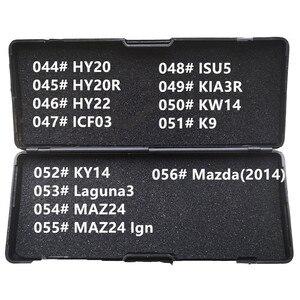 Image 5 - 31 43 LiShi 2 w 1 HU100R HU162T9 HU162T10 HU39 HON58R HON66 HON70 HYN11 HY15 HYN7R HY16 HY17 ślusarz narzędzia dla wszystkich typów