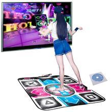 วิดีโออาเขตเต้นรำGaming Matsลื่นเต้นรำขั้นตอนMatแผ่นPC USB Dancing