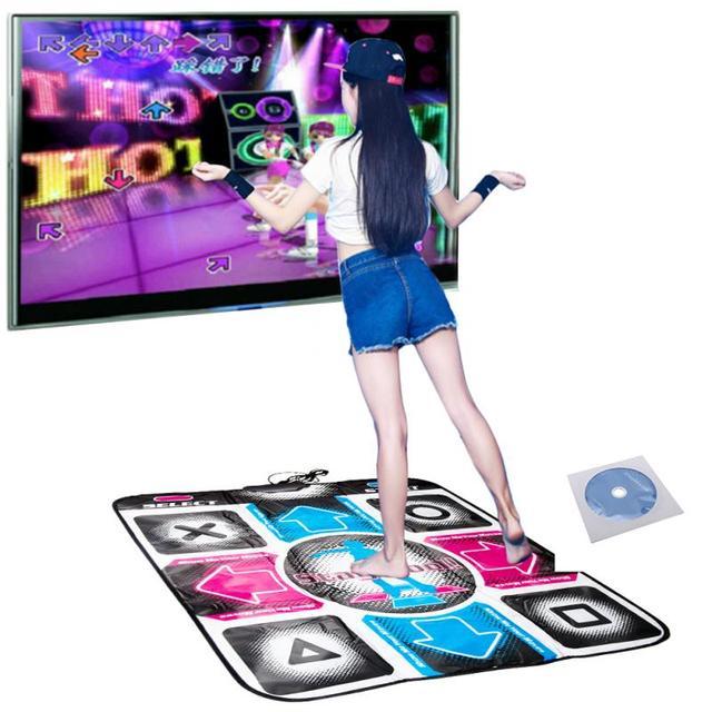 Video Arcade baile tapetes para videojuegos antideslizante paso de baile pastillas para PC USB tapete para baile