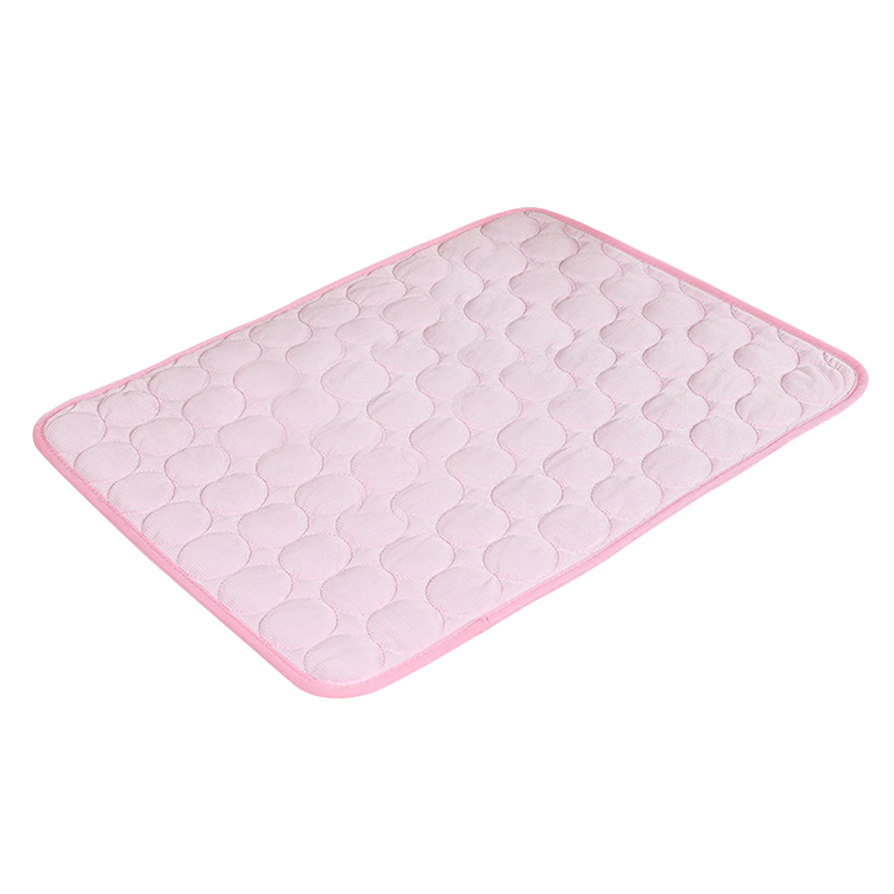 Portable Blanket Accessories Chilly Non-toxic Indoor Dog Cooling Mat Pet Cat Sofa Bed Pad Summer Soft Sleeping Cushion image