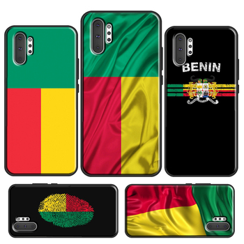 Benin Flag Case For Samsung Galaxy S20 S10 S8 S9 Plus S10e Note 10 Plus Note 20 Ultra Note9 Cover image