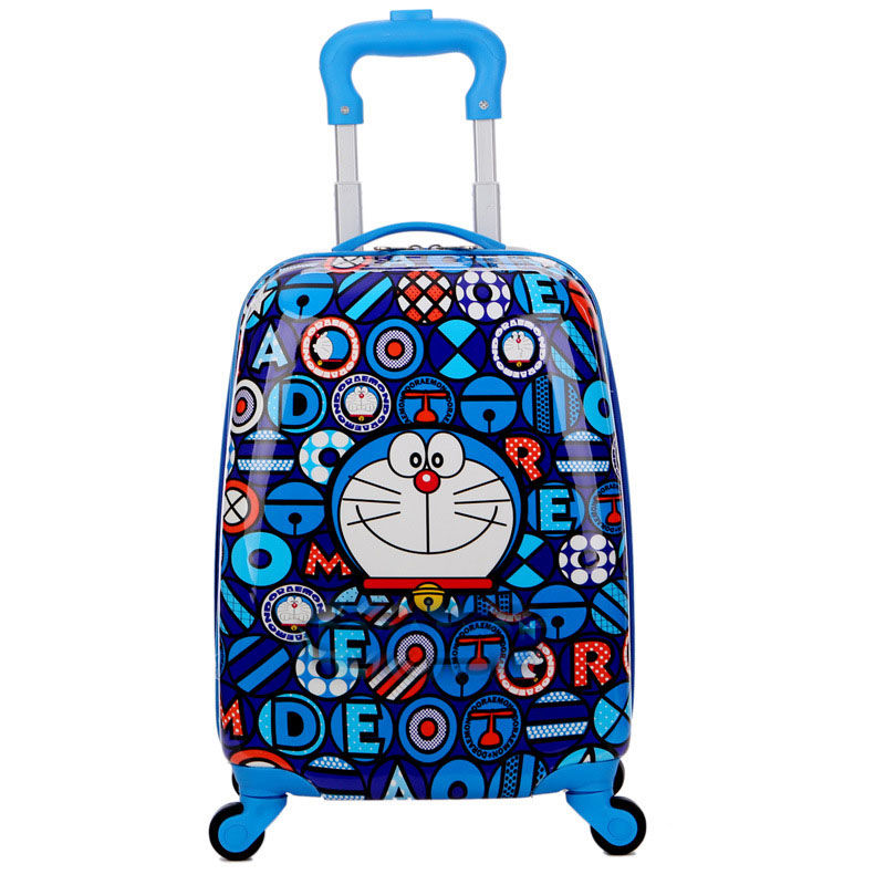 Trolley Suitcase With Wheels Child Rolling Luggage Kid Travel Cabin Suitcase Cartoon Boys Girls School Backpack Bag