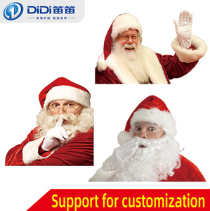 New type of Santa Claus car stickers, creative decorative window pull decal, single-sticker custom 30x30cm