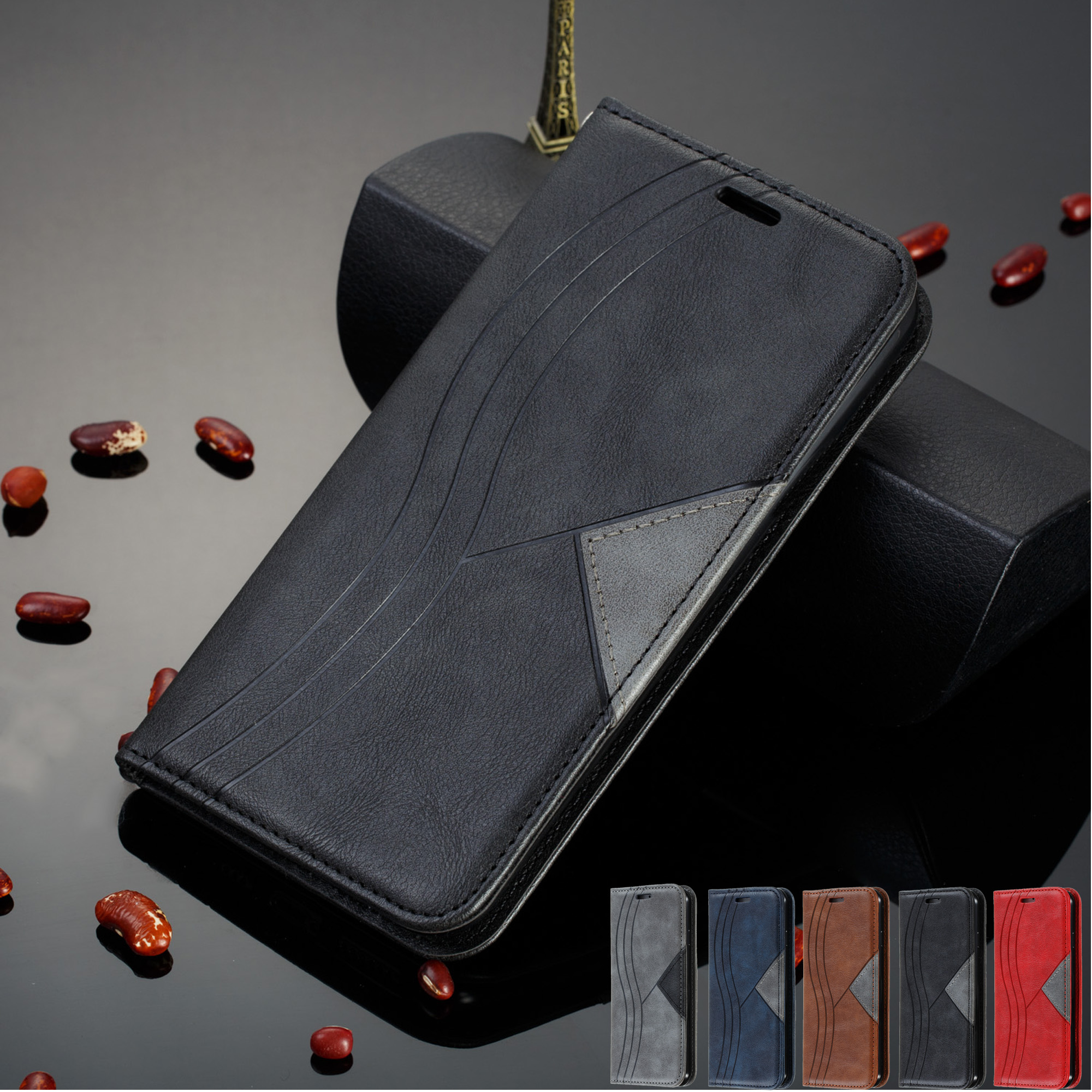 redmi note 8pro <font><b>Case</b></font> On For Coque <font><b>Xiaomi</b></font> Redmi Note <font><b>8</b></font> 7 8A 7A 6A K20 8T <font><b>case</b></font> xiomi <font><b>Mi</b></font> CC9E A3 9T Note10 pro <font><b>Magnet</b></font> Leather Cover image