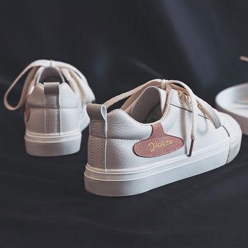 Nowe damskie sneakersy klasyczne białe buty damskie buty wiosna jesień modne buty w stylu Casual studenci trenerzy Skate damskie mokasyny tanie i dobre opinie XPAY Szycia Stałe Dla dorosłych Cotton Fabric latex Wiosna jesień Niska (1 cm-3 cm) Lace-up Pasuje prawda na wymiar weź swój normalny rozmiar