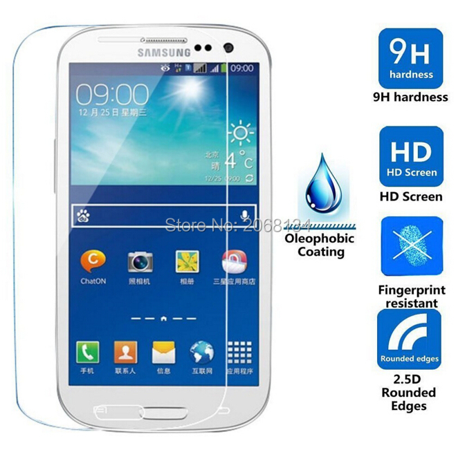 For <font><b>Samsung</b></font> Galaxy <font><b>S3</b></font> <font><b>Neo</b></font> Tempered <font><b>Glass</b></font> Original 9H Protective Film Front Guard Safety Screen Protector for GT-I9301I image