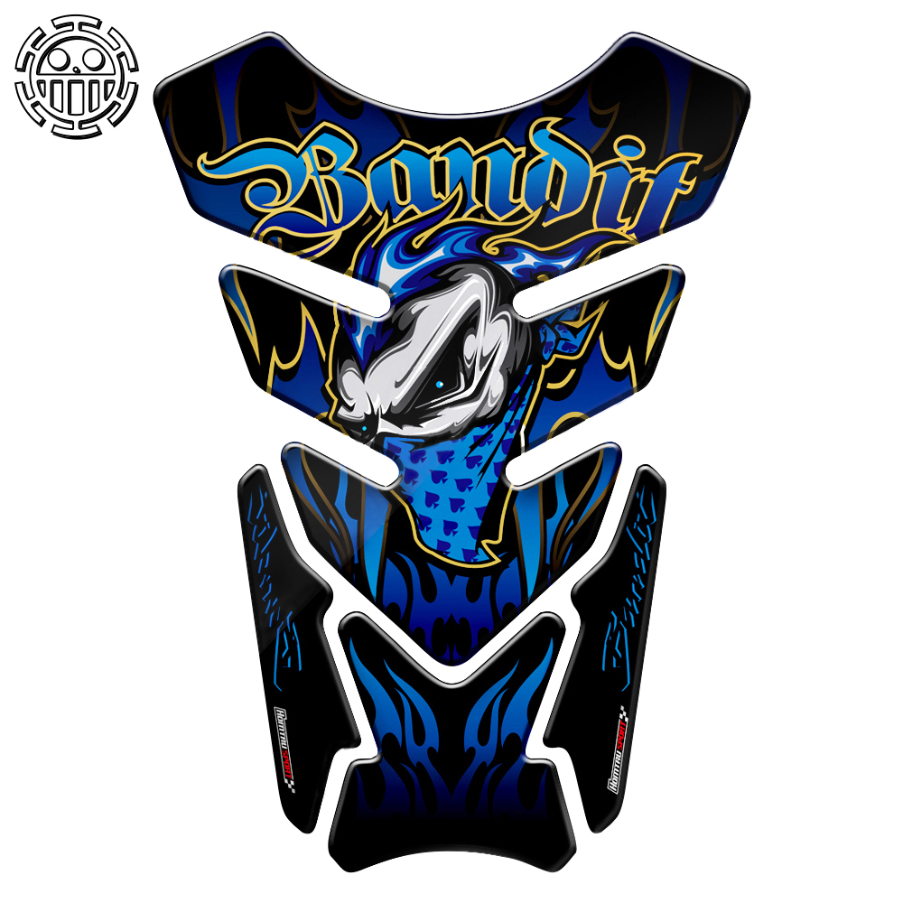Bandit <font><b>Stickers</b></font> Motorcycle Tank Pad Gel Protector <font><b>Sticker</b></font> Bandit Tankpad Case for <font><b>Suzuki</b></font> Bandit 600 650 1200 1250 650S 600S ABS image