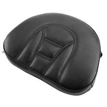 Motorcycle Front Driver Leather Seat Backrest Pad Cushion for Harley Touring Road Gilde Motorcycle Cover(China)