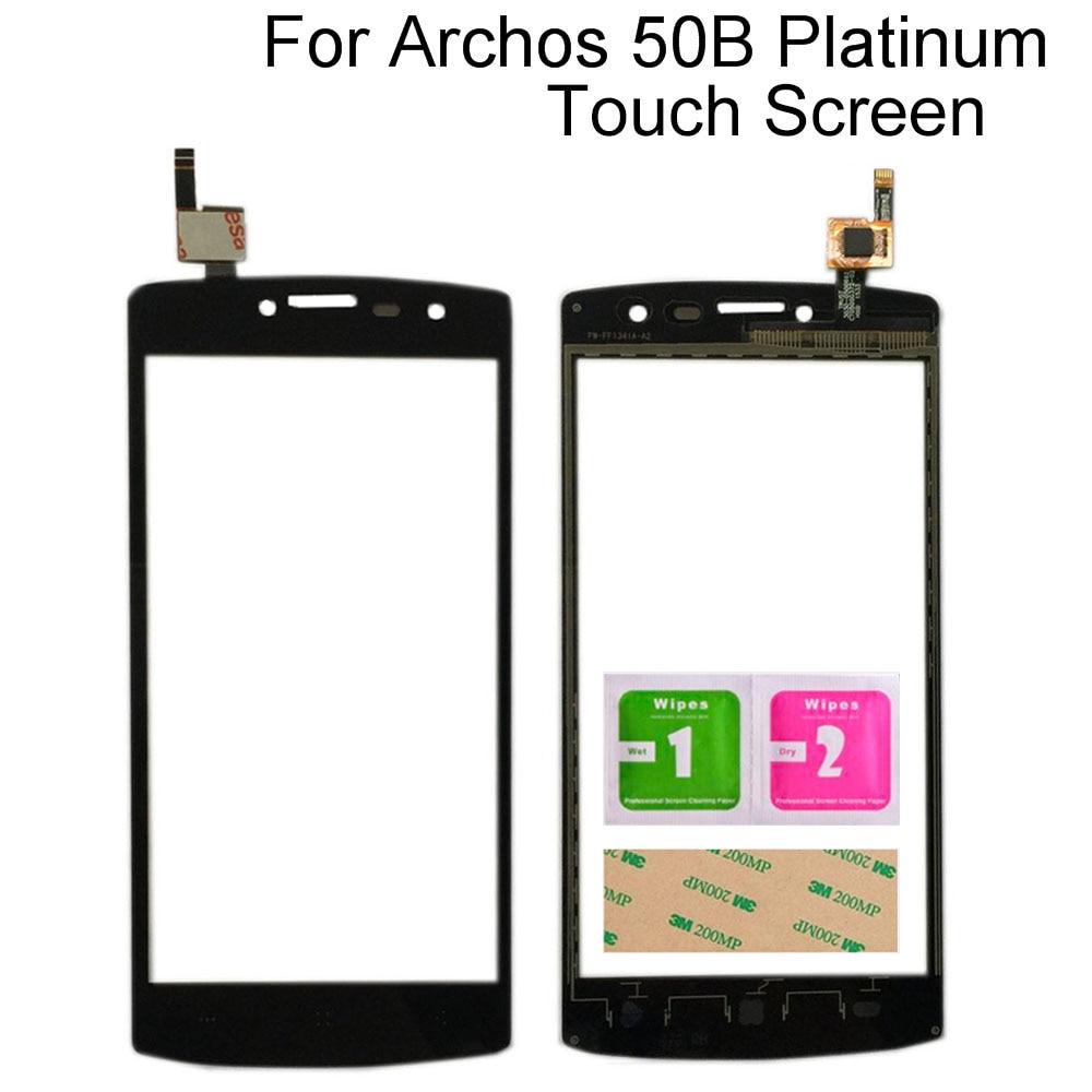 Сенсорный экран с цифровым преобразователем для Archos 50b Platinum, сенсорный экран, дигитайзер, стеклянная сенсорная панель, мобильный телефон Tools...