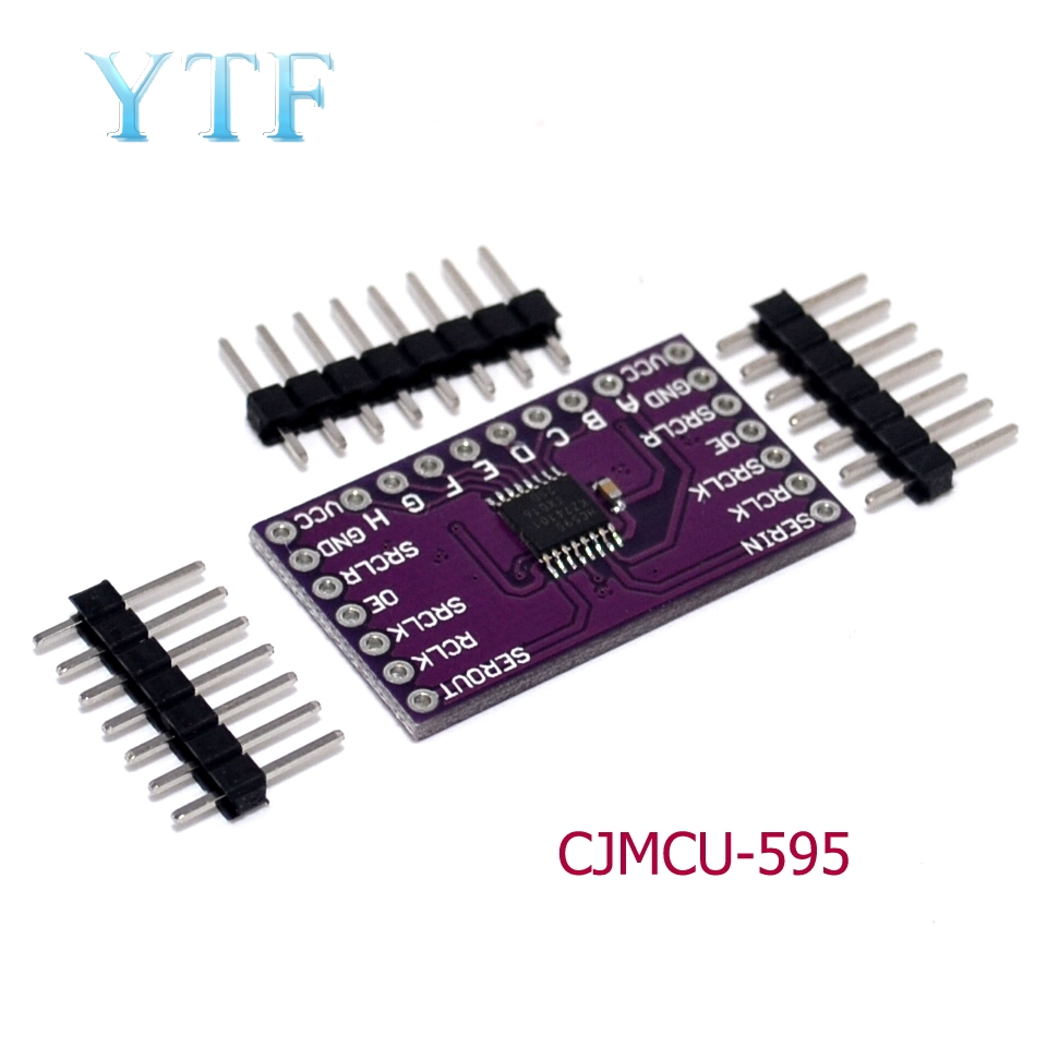 74HC595 Module Shift Register Breakout 8-bit Shift Register