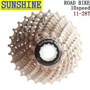 Frete grátis SUNSHINE-SZ road racing bike 10s 20s 10 velocidade 11-28 t cassete rodas livres rodas dentadas para peças de bicicleta volante