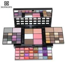 Fashion 74 Color Eyeshadow Palette Set 36 Eyeshadow + 28 Lip Gloss +6 Blush +4 Concealer Makeup Kit Cosmetics недорого