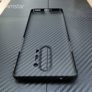 Image 5 - Amstar المزدوج اللون حقيقية ألياف الكربون واقية الحال بالنسبة OnePlus 8 برو جديد رقيقة جدا مكافحة سقوط حقيقي ألياف الكربون غطاء حالات