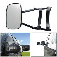 Glass Extension Car Safety Side Mirror Accessories RV Caravan Blind Spot Truck Rearview Adjustable Angle Trailer Towing Clip On