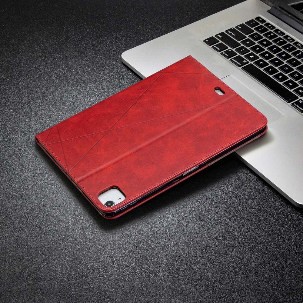 Case Pro Soft 2018 With Wallet PU Silicone Back iPad Leather For Holder Cover 12.9 2020