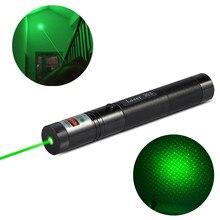 10000m Outdoor gadget burning green laser 532nm 5mw Green Laser Sight Lasers Adjustable Focus Powerful Burning