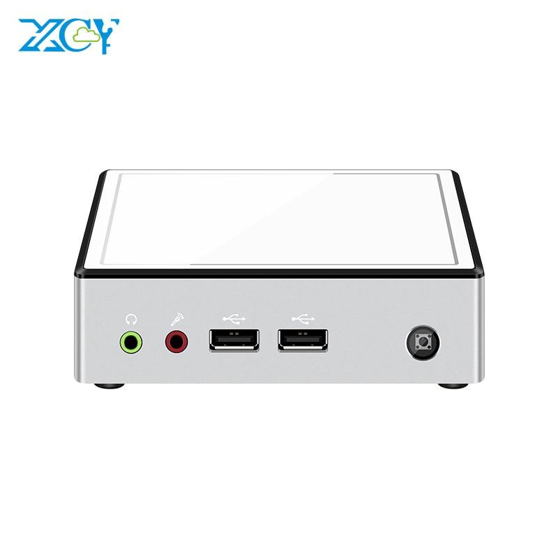 XCY X37 Mini PC Intel Core I7 5500U 4500U I5 4200Y I3 4010Y Windows 10 Linux DDR3L MSATA WiFi Gigabit Ethernet 4*USB HDMI HTPC