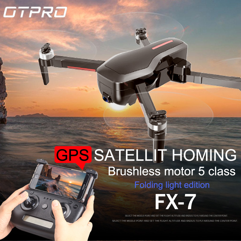 OTPRO CX7 5G Wifi FPV GPS Drone With 4K Camera HD Wide Angle 800m Distance Brushless Drone 25mins Flight Time RC Quadcopter