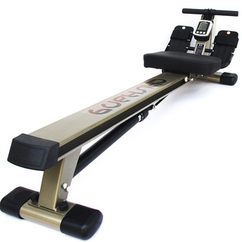 Quiet hydraulic resistance rowing machine home fitness abdominal retractor with display professional fitness rowing device
